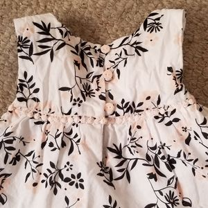 Authentic Kids Dresses - Little Girls Sleeveless Dress Organic Cotton
